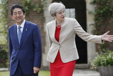Theresa May Flies to Japan to Boost Post-Brexit Trade Amid N Korea Missile Shock