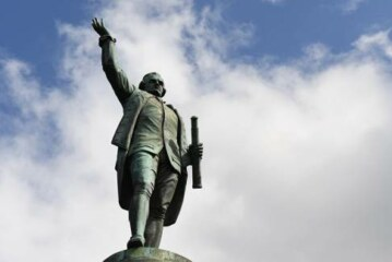 Captain Cook Should Be Hooked! Australian Activists Demand Statue's Removal