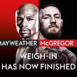Mayweather vs McGregor: Watch the weigh-in with our live steam from 11pm