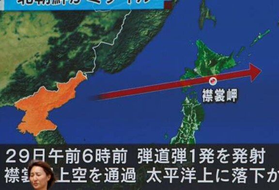 EU Considers N Korea's Latest Missile Launch Direct Threat to Japan