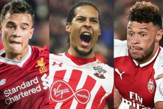 Philippe Coutinho, Virgil van Dijk, Alex Oxlade-Chamberlain: The odds-on transfers ahead of Deadline Day