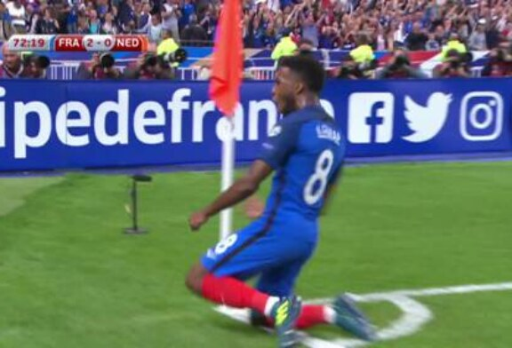 WATCH: Thomas Lemar scores stunner for France against Netherlands