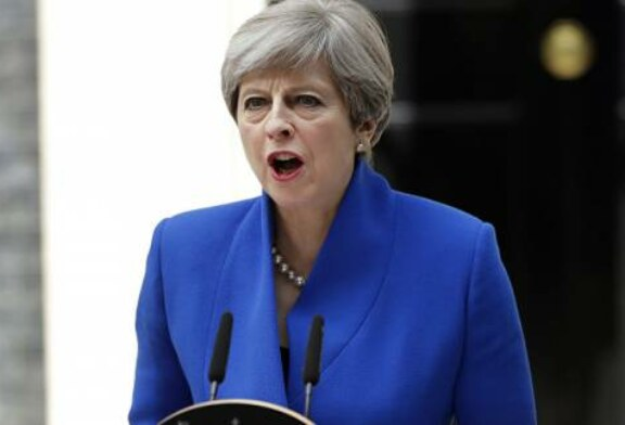 Theresa May Urges China to Be Tougher on North Korea Amid Nuclear Threat