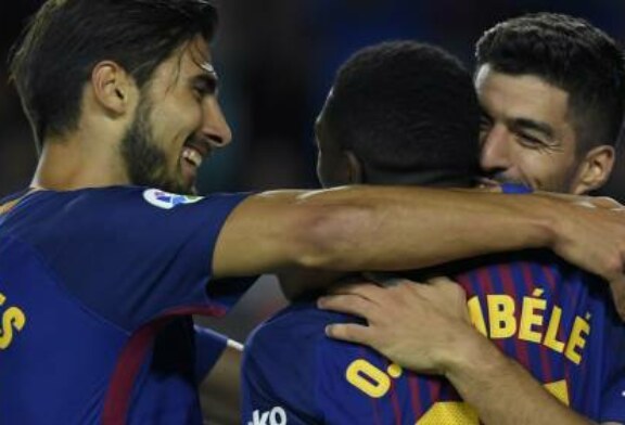 WATCH: Ousmane Dembele's debut impact for Barcelona