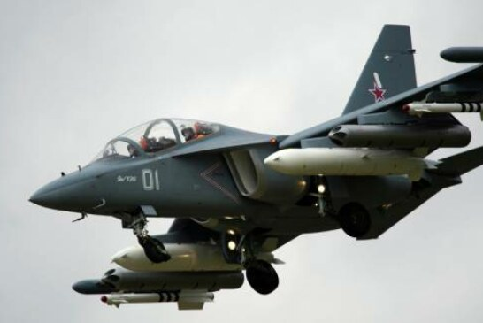 Yak-130 Trainer Jet Crashes Near Airfield in Central Russia, Pilots Eject