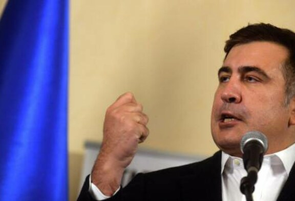 Saakashvili Vows to Return to Ukraine With 'Thousands' of Supporters