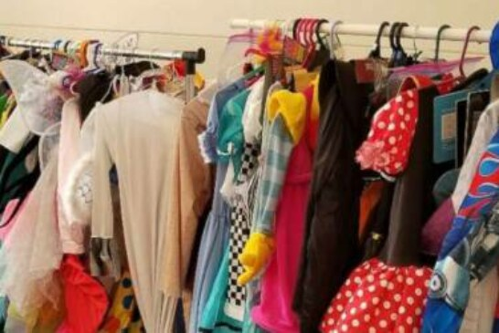 Women collect Halloween costumes for kids affected by Harvey