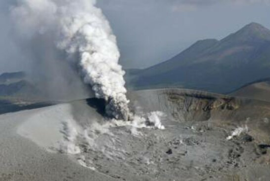 Volcanic eruption in Japan spreads ash in 4 cities, towns