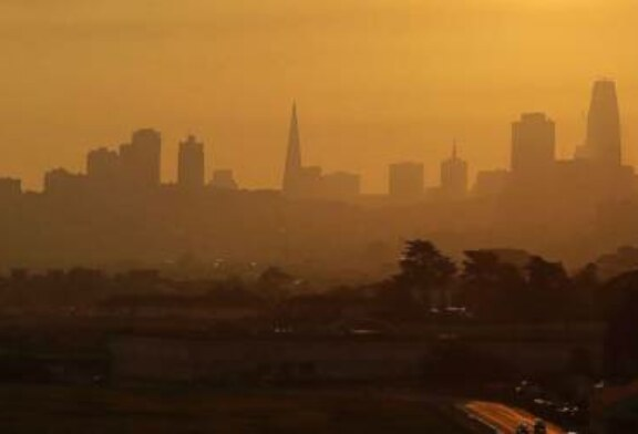 Wildfires create worst air quality in San Francisco Bay Area