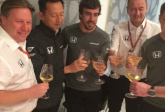 McLaren-Honda partnership ends with a  champagne toast