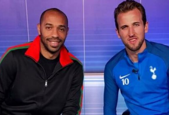 Nissan Match Zone: Harry Kane with Thierry Henry