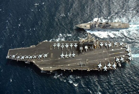 Face It, The Mighty U.S. Aircraft Carrier is Finished