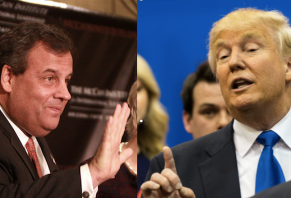 Trump, Christie Square Off Over High-Stakes Gambling