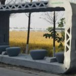 Gimme Shelter: Passengers in China Try Out World's First 3D Printed Bus Stop