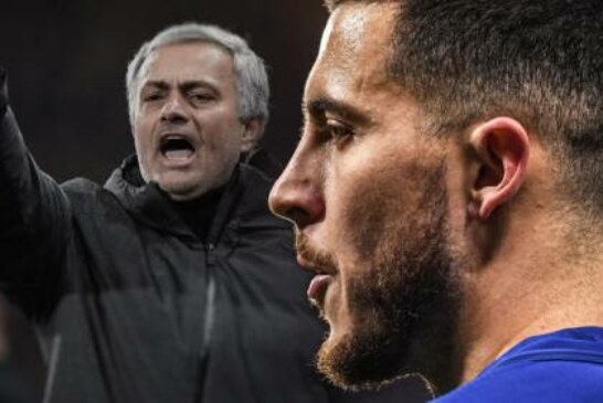 Jose Mourinho must stop Eden Hazard again when Manchester United face Chelsea