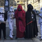 Rogue Ones: Activists Protest Apple in Paris Dressed in 'Star Wars' Costumes