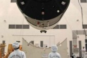 China's defunct space lab hurtling toward Earth for re-entry
