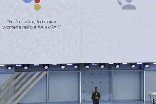 LISTEN: Google CEO Introduces Robots that Sound Just Like Humans
