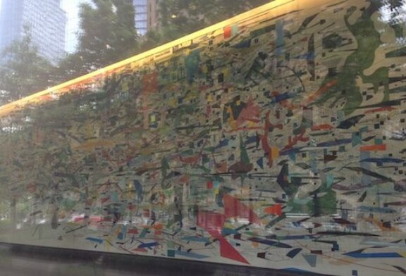 Goldman Sachs Lobby Art Explains Everything That's Wrong With Our Elites