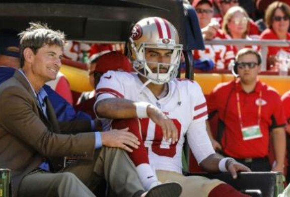 Jimmy Garoppolo out for season with torn ACL