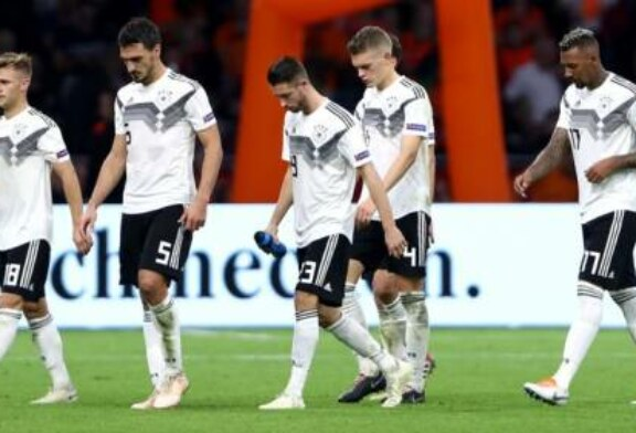 Germany facing prospect of Nations League relegation after losing to Netherlands