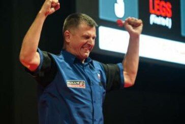 Krzysztof Ratajski continues to make his mark in the PDC
