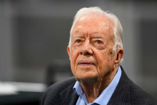 Former President Jimmy Carter calls for Georgia Secretary of State Brian Kemp to resign