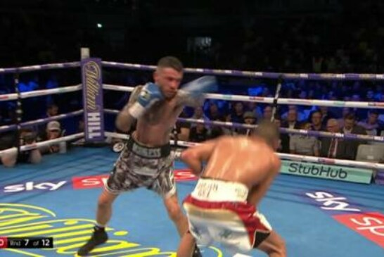 Ryder vs Sirotkin: Jordan Gill flawless as he stops Ryan Doyle to win the Commonwealth title