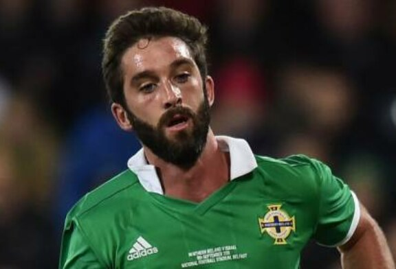 Will Grigg doubtful for Northern Ireland's match in Bosnia