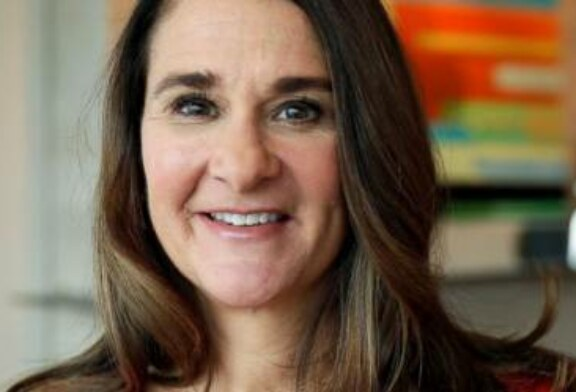 Melinda Gates speaks on smoothing the shift to digital age