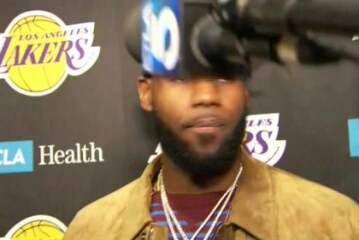 LeBron James takes positives from Los Angeles Lakers defeat by Houston Rockets