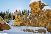 Town removing divisive giant wooden troll
