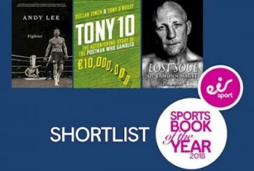 Here are the three books on the eir sport Sports Book of The Year shortlist