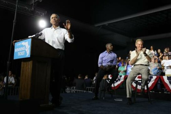 Obama tends to hold back. But he's getting aggressive for the midterms.