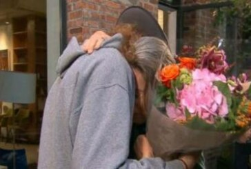 Face transplant recipient thanks his donor's mother in tear-jerking moment