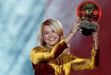 DJ apologises for asking Ballon d'Or winner Ada Hegerberg about twerking