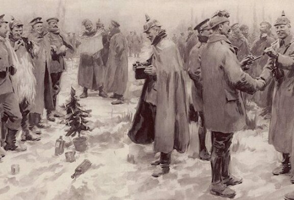 The Great War Christmas Truce: 'They Were Positively Human'