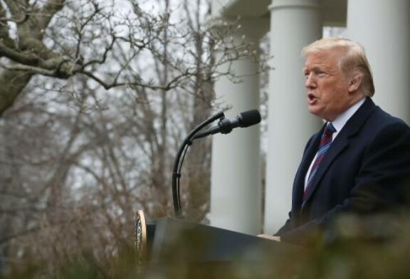Trump's bizarre Rose Garden news conference shows why he's impossible to negotiate with