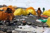 30 tents abandoned by climbers add to trash pile on Everest