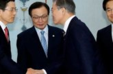 South Korean political parties back Moon in Japan trade row