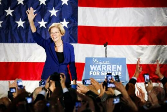 Polls show Warren surging in early 2020 primary states