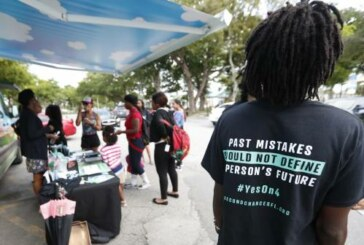 A controversial Florida law stops some former felons from voting. A judge just  blocked part of it.
