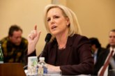 Kirstjen Nielsen was asked to answer for family separations in her first interview since leaving office