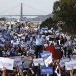 """Apple is celebrating its new housing initiative. Bernie Sanders calls out its """"hypocrisy."""""""