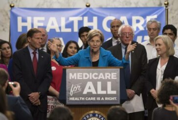 Elizabeth Warren's new Medicare-for-all plan starts out with a public option