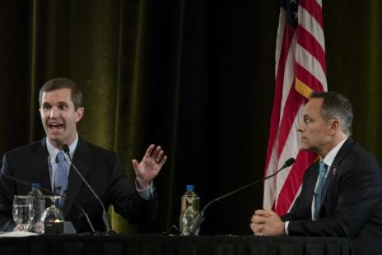 Democrat Andy Beshear just unseated Kentucky's Trump-loving governor
