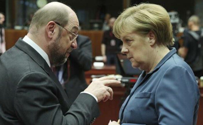 Schulz Using 'US Nuclear Umbrella' in Germany as Last Means to Take Over Merkel